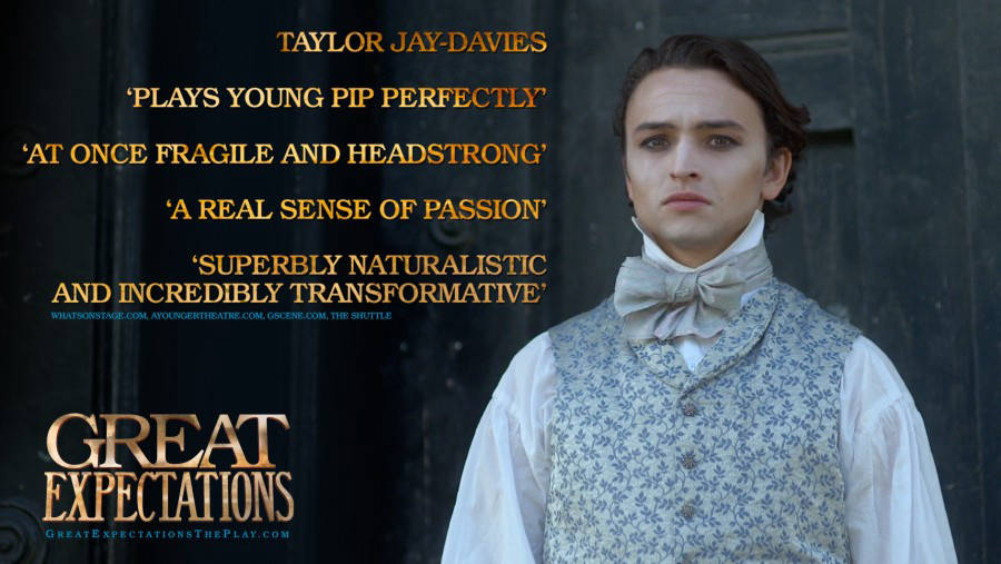 GREAT EXPECTATIONS - Young Pip - Taylor Jay-Davies Marketing - N9 Design