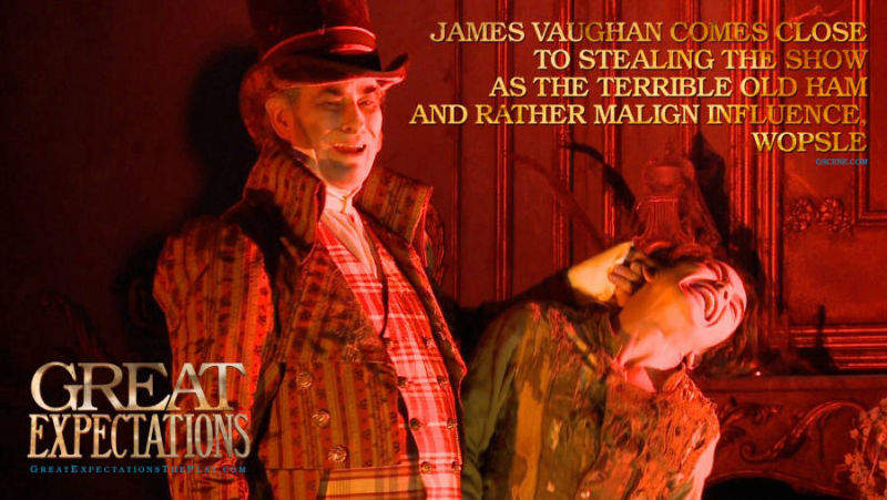 GREAT EXPECTATIONS - Wopsle - James Vaughan Marketing - N9 Design