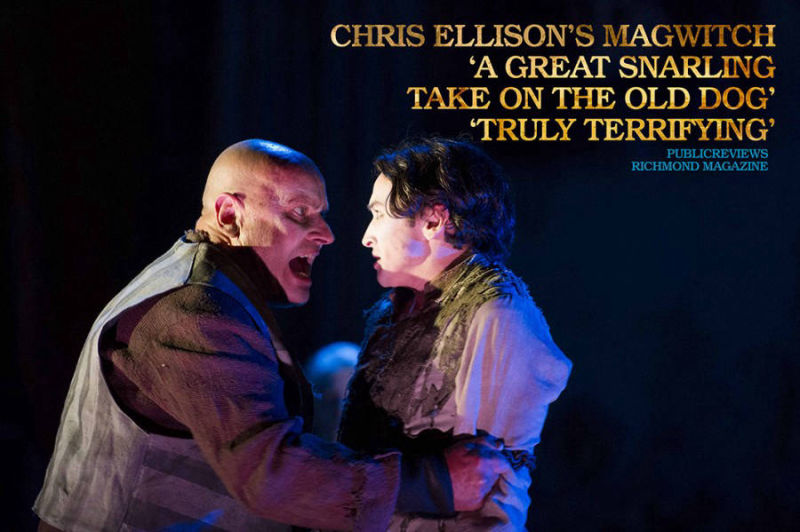 GREAT EXPECTATIONS - Magwitch / Young Pip - Chris Ellison / Taylor Jay-Davies Marketing - N9 Design