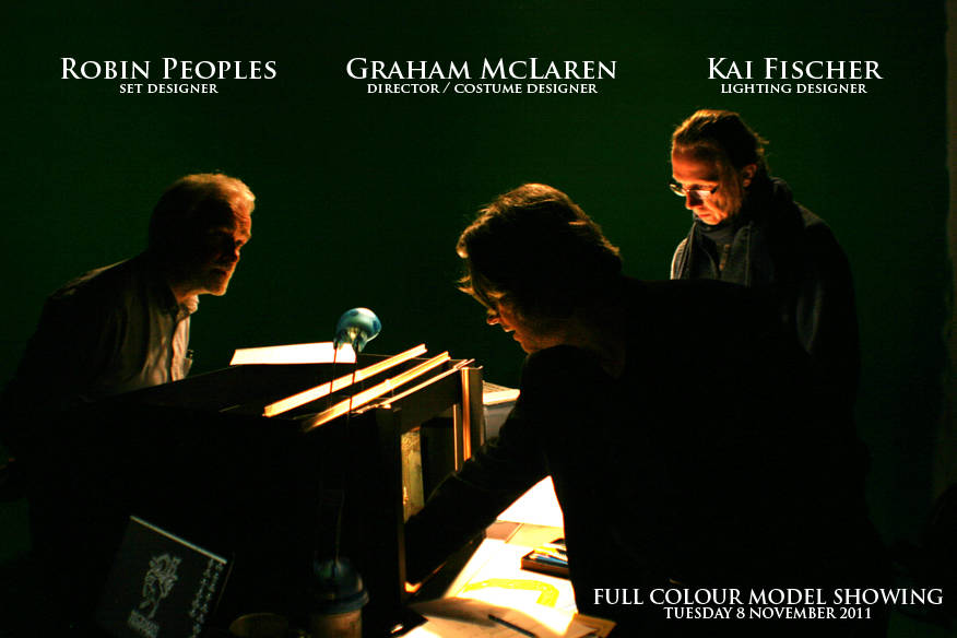 GREAT EXPECTATIONS - Backstage - Robin Peoples / Graham McLaren / Kai Fischer